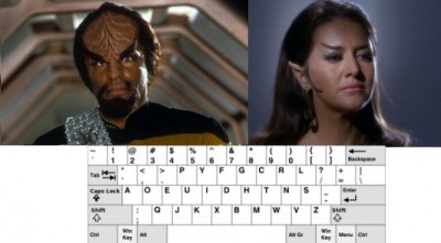 Klingon Romulan Dvorak