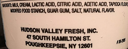 Hudson Valley Fresh Sour Cream